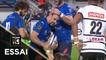 TOP 14 - Essai Thomas COMBEZOU (CO) - Castres - Brive - J9 - Saison 2019/2020
