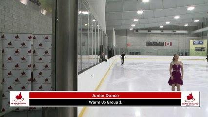 2020 Skate Ontario Sectionals - Junior & Senior Rhythm Dance