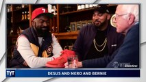 Bernie Reacts To $11,000 Sneakers on Desus and Mero