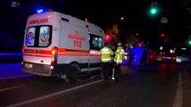 Panelvan ile otomobil çarpıştı: 2 yaralı