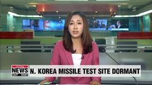 No recent movement at N. Korea's Dongchang-ri missile test site: 38 North