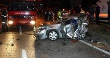 Sakarya'da zincirleme trafik kazası: Aynı aileden 1'i bebek, 3 kişi hayatını kaybetti