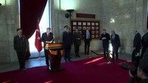Atatürk'ün ebediyete intikalinin 81'inci yılı - Cumhurbaşkanı Erdoğan Anıtkabir şeref defterini...