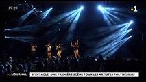 Spectacle: une première scène pour les artistes polynésiens