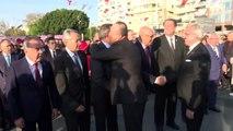 Büyük Önder Atatürk'ü anıyoruz - Çavuşoğlu, Cumhuriyet Alanı Atatürk Anıtı'ndaki törene katıldı -...