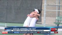 Garces captures Girl's Tennis Doubles Championship
