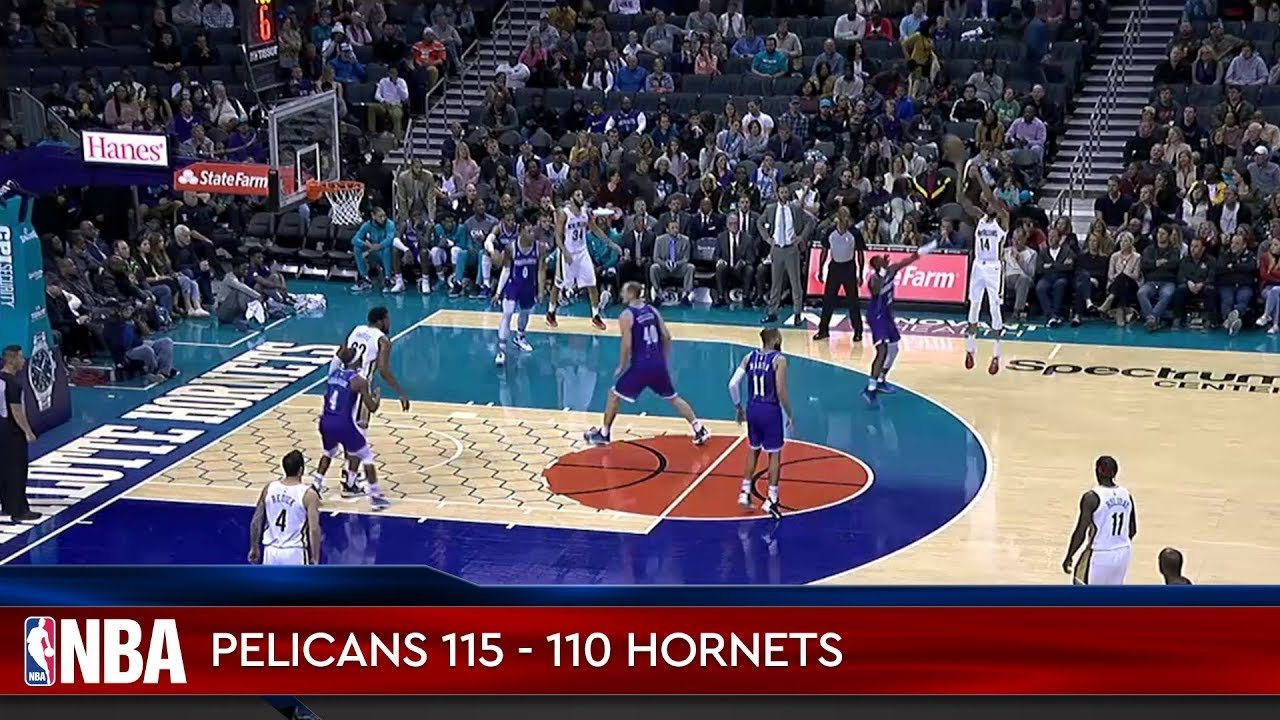 New Orleans Pelicans 115 - 110 Charlotte Hornets