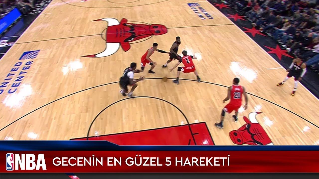 NBA'de Gecenin En Güzel 5 Hareketi | 10.11.2019