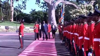 Tshisekedi et Museveni décident de la construction de plus 900 km de route