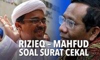 Rizieq Tunjukkan Surat Cekal, Mahfud MD: Kok Suratnya Sekarang Baru Ada