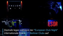 Im Tresor-Club für den Weltfrieden tanzen