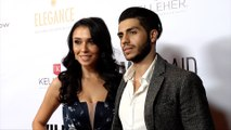 "Emily Shah and Mena Massoud 2019 WildAid Gala ""A Night in Africa"" Red Carpet"