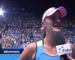 Fed Cup - Mladenovic émue aux larmes après sa victoire face à Barty