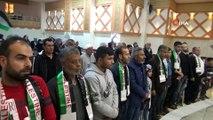 Kilis'teki Filistinliler efsanevi liderleri Arafat'ı andı
