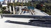 2,5 milyarlık Türkiye'nin maliyeti en yüksek şehir içi yolu Kanuni Bulvarı'nda çalışmalar sürüyor