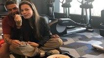 Alejandro Sanz endulza su gira junto a su hija Manuela