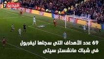 """شاهد فى دقيقة.. ليفربول ضد مانشستر سيتى تحت شعار """"البقاء للأقوى"""""""