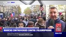 """""""J'ai signé la tribune, ma place est ici."""" Olivier Besancenot assume sa participation à la marche contre l'islamophobie à Paris"""