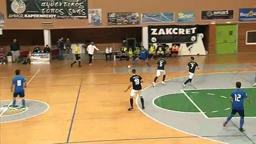 Καρπενήσι Futsal-Αναγέννηση Θρακομακεδόνων 9-6