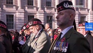 Watch: UK Royal Family leads annual Remembrance Day commemorations