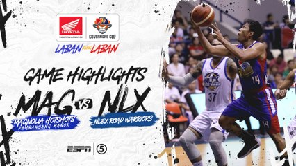 Highlights: Magnolia vs NLEX | PBA Governors' Cup 2019