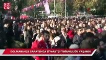 Dolmabahçe'de rekor katılım