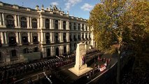 The Queen, Duke and Duchess of Cambridge among Royals attending Remembrance Day ceremony