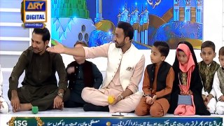 Shan-e- Mustafa | Kids Segment With Sarfaraz Ahmed | 10th Nov 2019