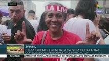 teleSUR Noticias: Bolivianos se movilizan en apoyo a Evo Morales