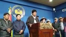 Morales convoca nuevas elecciones en Bolivia