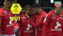 But Samuel GRANDSIR (72ème) / Stade Brestois 29 - Paris Saint-Germain - (1-2) - (BREST-PARIS) / 2019-20