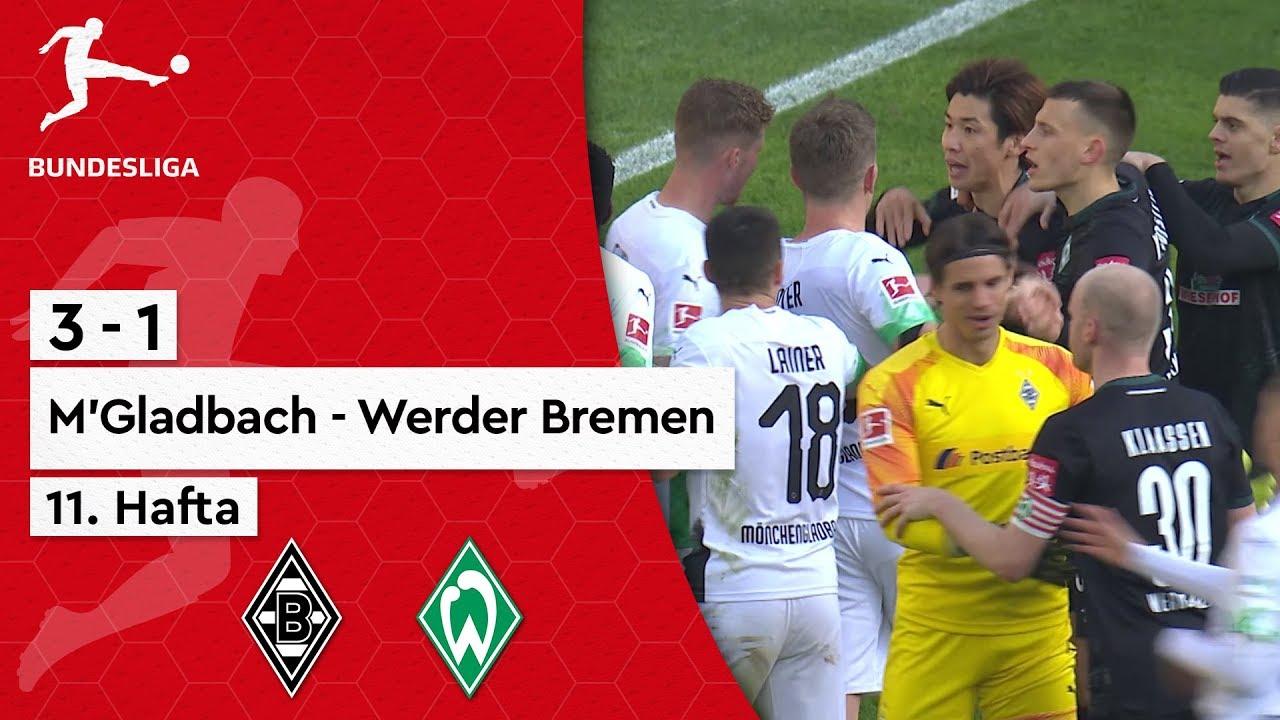 11. Hafta / B. Mönchengladbach - W. Bremen (3-1) - Maç Özeti - Bundesliga 2019/20