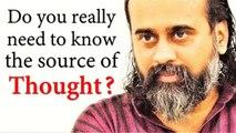 Do you really need to know the source of thought? || Acharya Prashant, on Raman Maharishi (2018)
