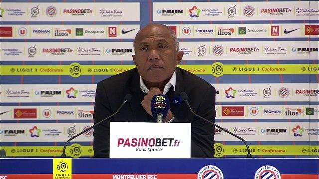 """""""Je n'ai vraiment pas aimé notre prestation"""", Antoine Kombouaré après Montpellier/TFC"""
