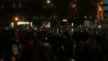 La Marseillaise entonnée place de la Nation à Paris à la fin de la marche contre l'islamophobie