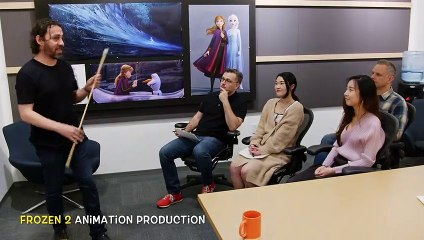 Frozen 2 Animation Production