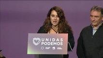 Unidas Podemos se felicita por una campaña electoral centrada en la defensa de lo público