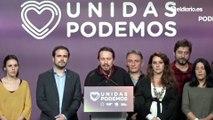 """""""Se duerme peor con más de 50 escaños de la extrema derecha que con diputados de Unidas Podemos"""""""