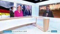Chute du mur : Emmanuel Macron présent à Berlin