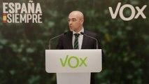 Vox celebra los resultados que arrojan los primeros datos
