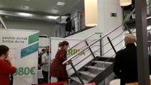 EH Bildu celebra los resultados en su sede de San Sebastián
