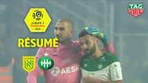 FC Nantes - AS Saint-Etienne (2-3)  - Résumé - (FCN-ASSE) / 2019-20
