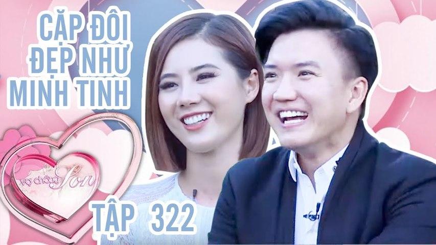 Vợ Chồng Son Tập 322 FULL | Hồng Vân Quốc Thuận sang Mỹ phỏng vấn cặp vợ chồng ĐẸP như MINH TINH