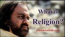 Acharya Prashant at Maharishi Raman Kendra, Delhi - What is Religion