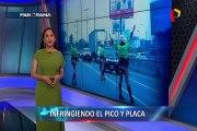 Nuevo Top Panorama: infractores del Pico y Placa de camiones