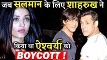 When Shahrukh Khan Boycotted Aishwariya Rai All Because of Salman Khan