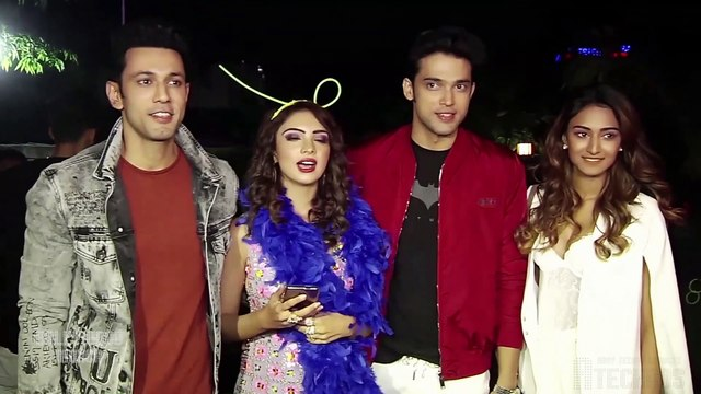Inside Pooja Banerjee's B'day Party  Parth Samthaan,Erica Fernandes,Hina Khan