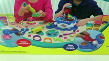 Play Doh Cake and Ice Cream Confections Playset- 40+ Accessories-