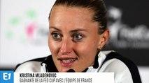 """Pour Kristina Mladenovic, la victoire en Fed Cup ressemble à un """"trou noir"""""""