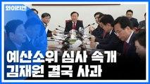 '김재원 막말' 파문 예결소위 오후 속개 / YTN
